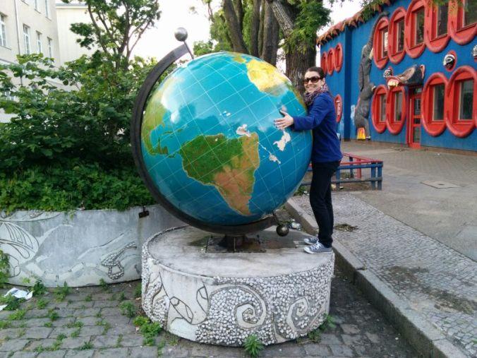Globe in Neukölln