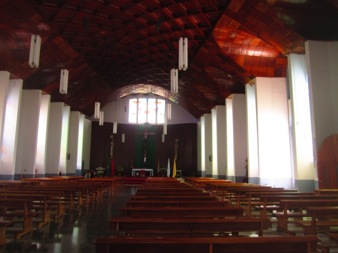 The church from inside