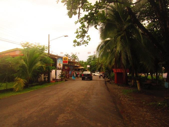 Streets of Puerto Viejo