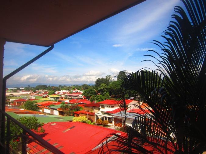 View from Jeffrey´s balcony