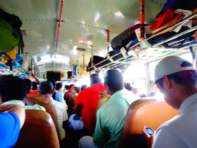 Inside the Chicken Bus :)