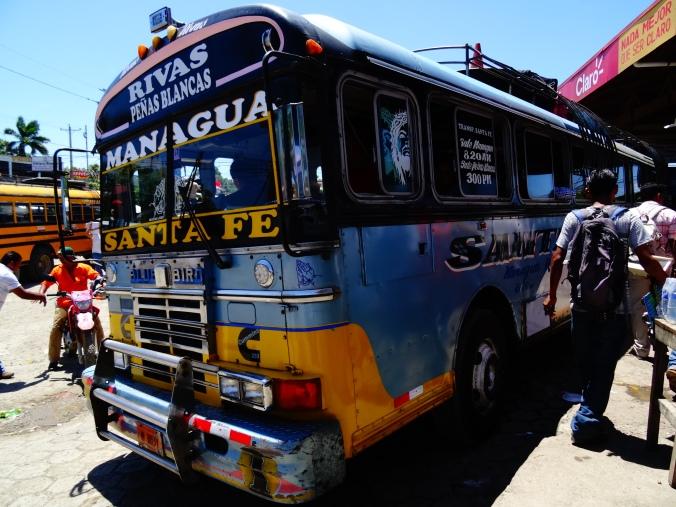 Bus to Managua
